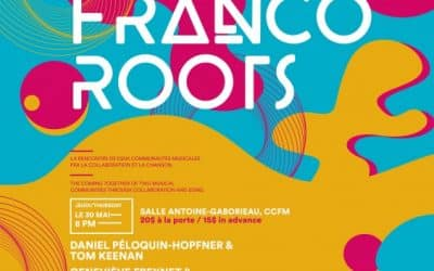 Franco Roots: billets en vente maintenant!