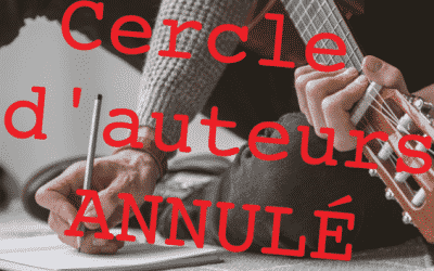 ANNULATION CERCLE D'AUTEURS